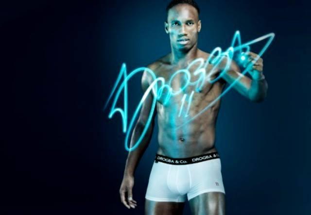 « Drogba & Co »: la nouvelle ligne de sous-vêtement de Didier Drogba