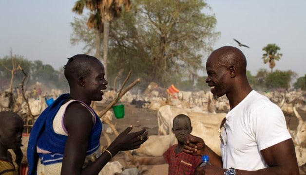 Image result for djimon hounsou in africa