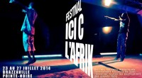 "Organized by Mossibet'ké association, the 3rd edition of the festival ""ICI C L'AFRIK"" (Here is Africa), will take place from 23rd to 27th July 2014 in both cities of Congo: […]"