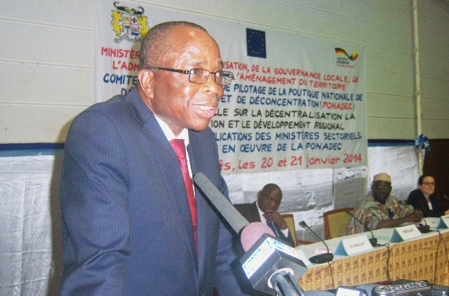 Isidore Gnonlonfoun: unanimously appointed at the head of