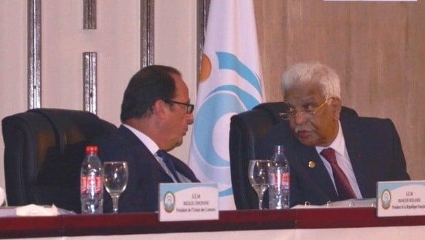 OIF : Le candidat mauricien reçoit la bénéfiction de l'océan indien