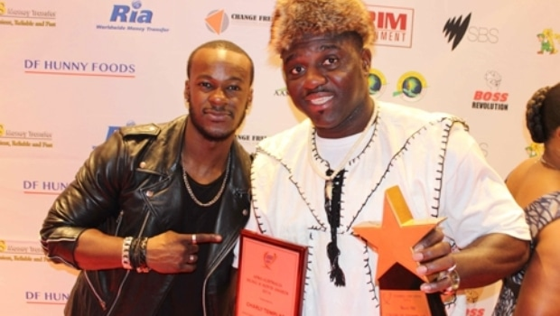 Charly Templar: Best Dj and best mentor at AAMMA Awards 2014