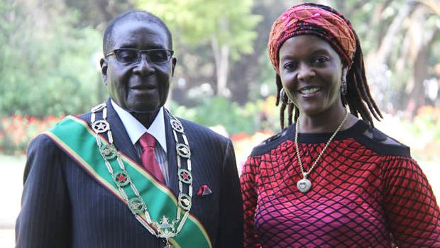 Robert Mugabe: His wife could succeed to him at the head of Zimbabwe