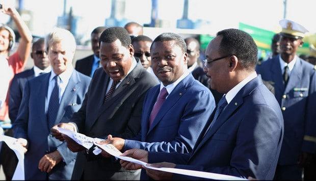 Togo : Faure Gnassingbé inaugure le 3ème quai du port de Lomé