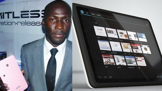 Tony Smith: the Cameroonian competing Ipad and Samsung Galaxy