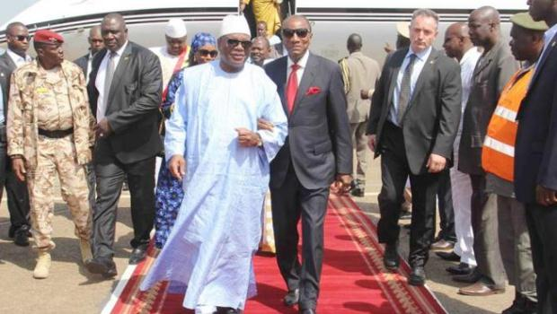 Ebola: IBK bringing his fraternal support to his counterpart, Condé