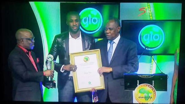 Yaya Touré: crowned African player of the year for the 4th