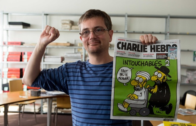 Charb à Paris le 19 septembre 2012. - REVELLI-BEAUMONT/SIPA