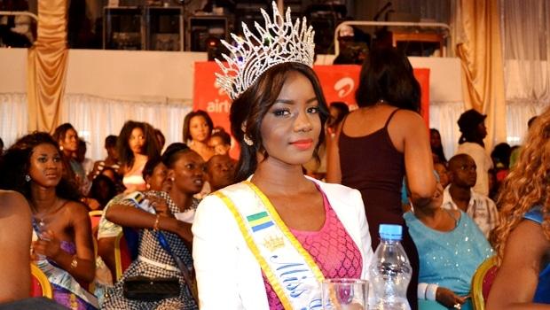 Maggaly Nguema : La reine de beauté gabonaise élue Miss Cemac