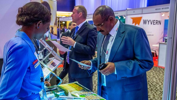 First Aviation Africa Summit of Dubaï: Ecair is making the point