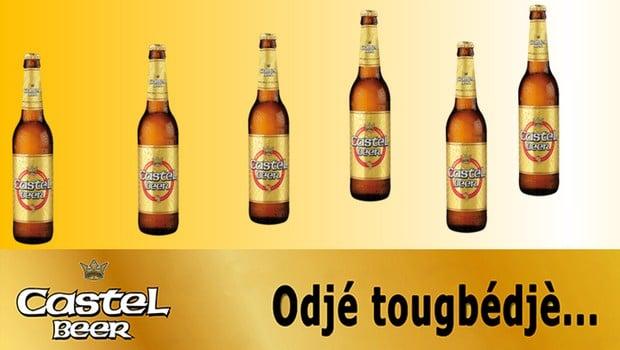 Togo: «Odje tougbedje», le nouveau format 50cl de Castel Beer disponible!!!