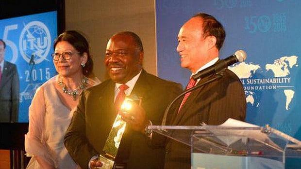 TIC et Développement durable: Ali Bongo récompensé à New York