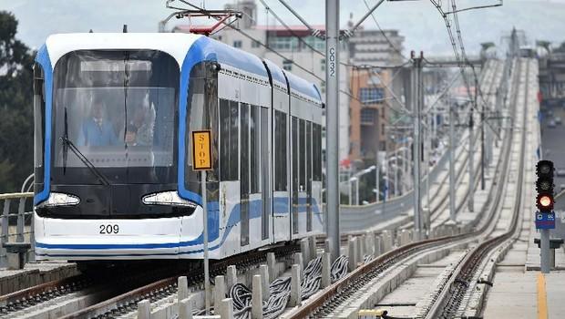 Ethiopie: Inauguration du 1er tramway d'Afrique noire