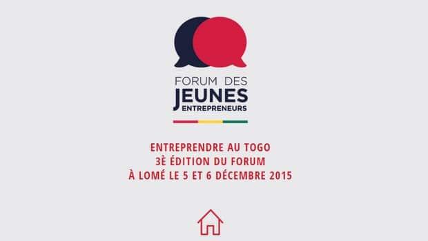 Togo: lancement du 3ème Forum des Jeunes entrepreneurs