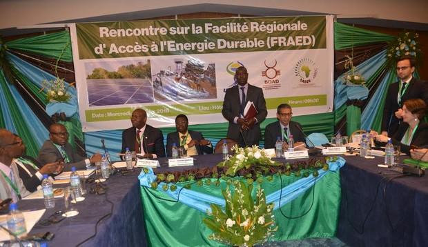 Energies renouvelables : accélération de la mise en marche du fonds FRAED de l'UEMOA