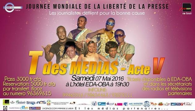 T des médias 2016: Les journalistes togolais défilent samedi!!! (Jour J-1)