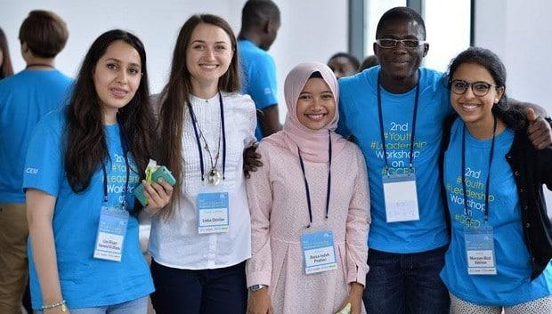 Éducation à la citoyenneté mondiale : l'UNESCO honore un jeune leader togolais