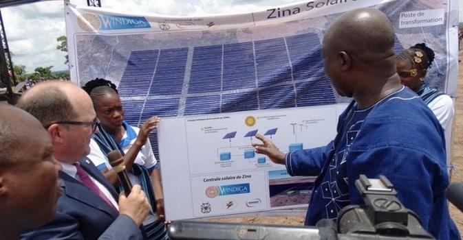 Burkina Faso : lancement des travaux de la 1ère centrale solaire privée du pays