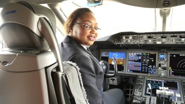 Irene Koki Mutungi : 1ère africaine capitaine aux commandes d'un Boeing 787
