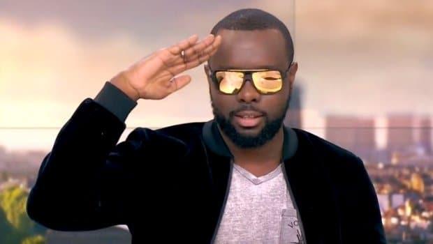 dernier style en gros la meilleure attitude Maître Gims à Abidjan : Jamais sans lunettes de soleil, le ...