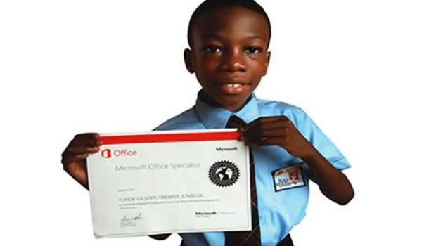 Jomiloju Tunde-Oladipo : A 9 ans, il est certifié ingénieur chez Microsoft