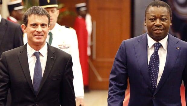 Manuel Valls -Faure Gnassingbe