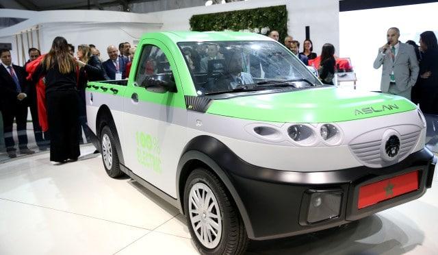 COP22: Le premier véhicule marocain 100% électrique est né !