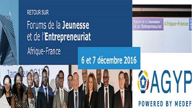 Forum de la jeunesse et l'Entrepreneuriat Afrique-France: les lauréats connus