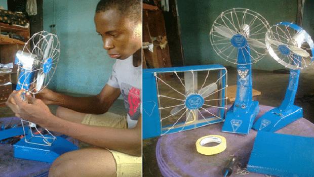 Nigeria un jeune de 13 ans con oit un ventilateur exceptionnel africa top - Duree congelateur sans electricite ...