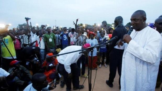 Perspectives de Adamas Barrow pour la Gambie