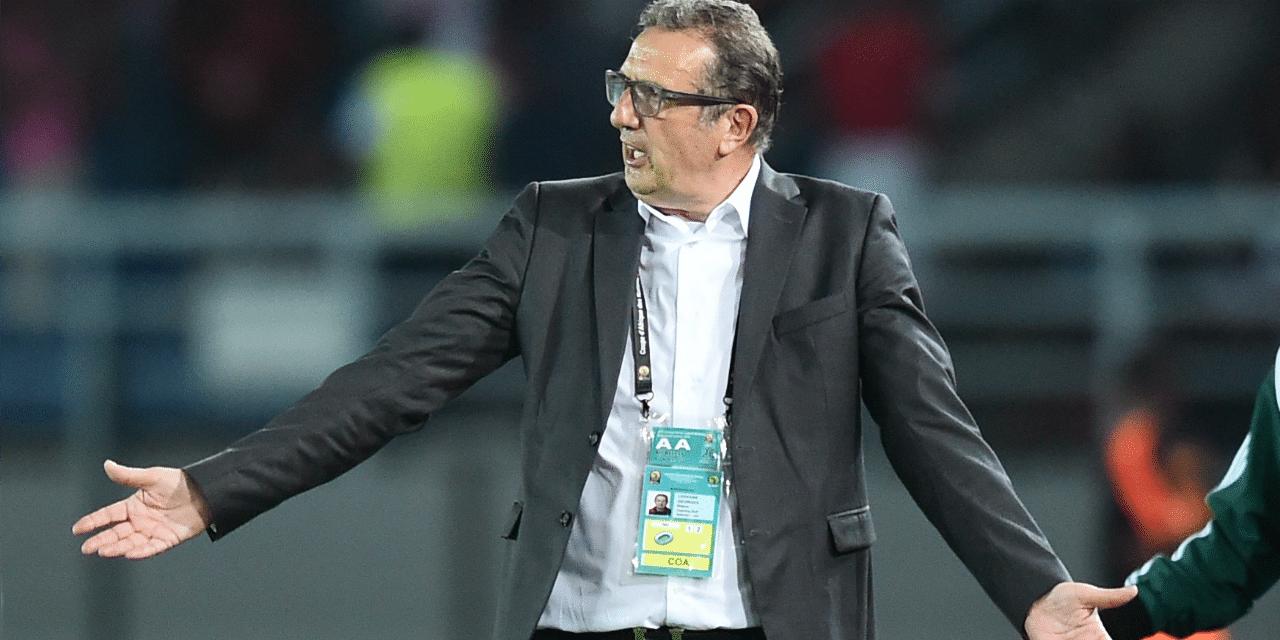 CAN 2017: démission du sélectionneur de l'Algérie