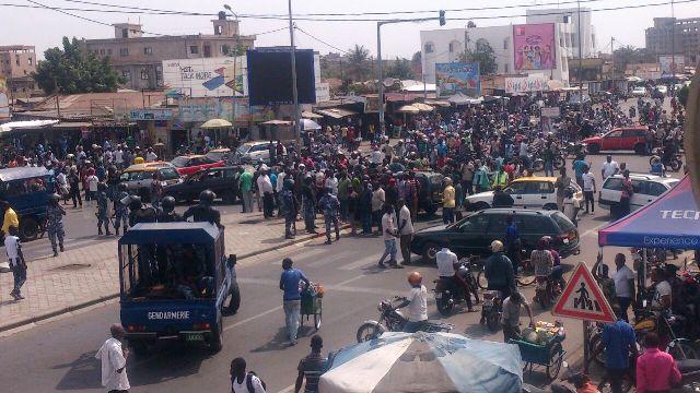 Togo: la rue grogne au rythme des taximen et zémidjans