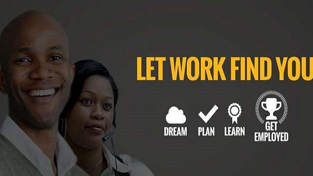 Laissez le travail vous trouver!