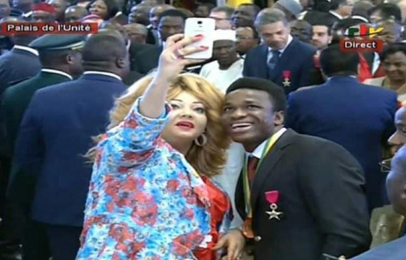 Le selfie avec la première dame
