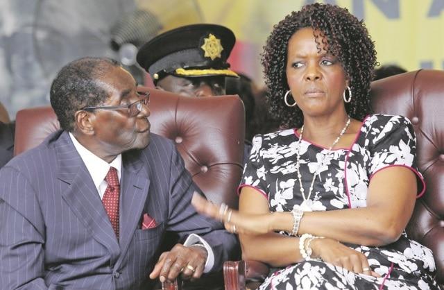 Couple Mugabe