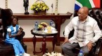 Ontlametse Phalatse a reçu un panier rempli de fleurs et un gâteau d'anniversaire des mains du président sud-africains Jacob Zuma. Sur les photos publiées par la présidence sud-africaine, on aperçoit […]