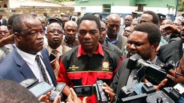 Opposant Zambie