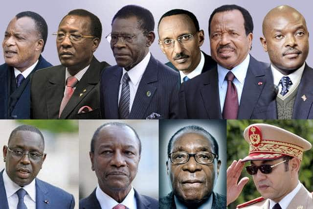 Presidents africains