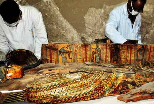 Egypte: découvertes extraordinaires dans une tombe de l'ère pharaonique
