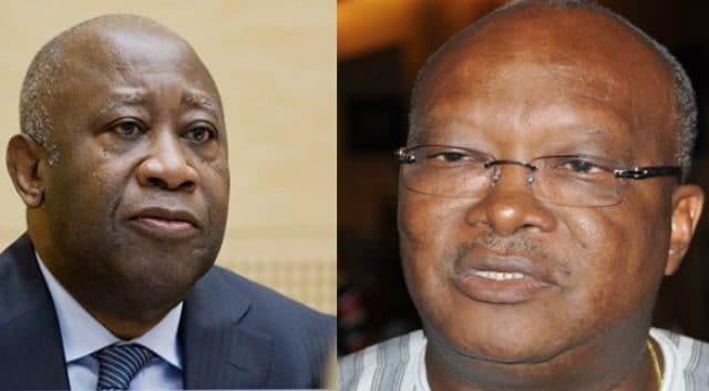 Gbagbo et Kaboré