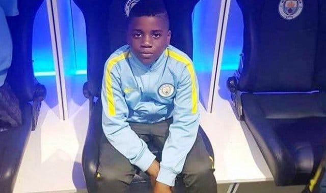 A 9 ans, Tristan Achu est recruté par Manchester City