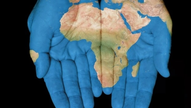 Africa hands