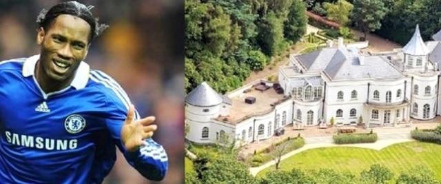 Top 10 des maisons les plus chères des footballeurs, Drogba en tête (photos)