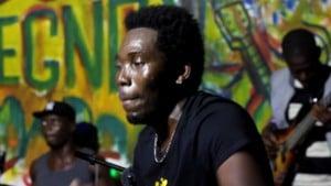 TITI du groupe Dounegno sur scène le 24 juin 2017 à Kpalime (Togo)