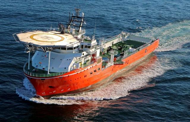 Namibie: inauguration du plus grand navire d'exploration de diamant au monde