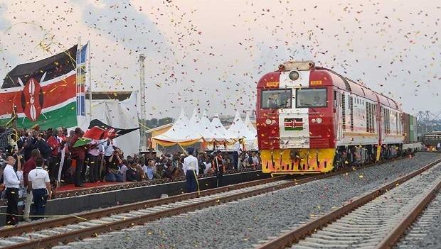 Kenya: le premier train trans-Afrique orientale a effectué son premier voyage