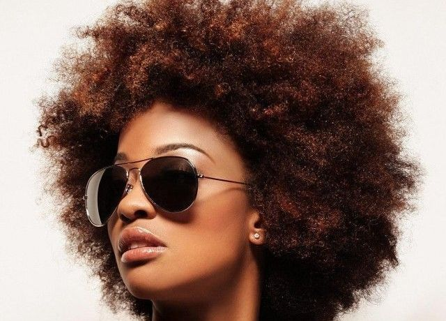 afro cheveux