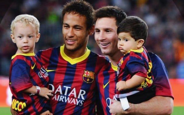 Neymar et fils