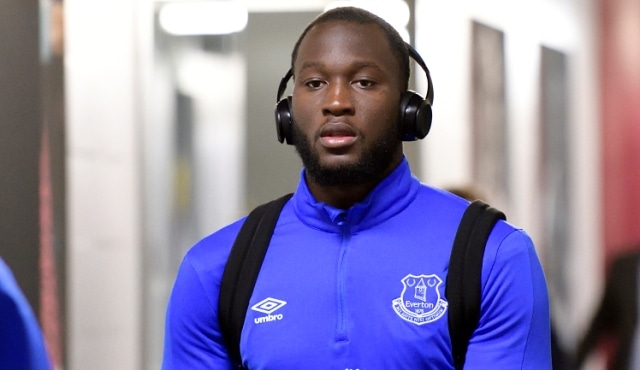 STRATFORD, ENGLAND - APRIL 22:  Romelu Lukaku of Everton before the Premier League match between West Ham United and Everton at London Stadium on April 22, 2017 in Stratford, United Kingdom.  (Photo by Tony McArdle/Everton FC via Getty Images)