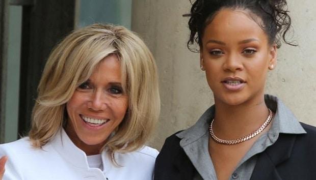 Elysée: le look de Rihanna, la risée des internautes ( photos )